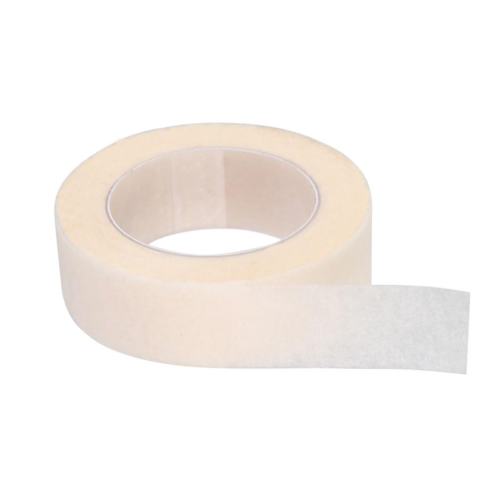100pcs/Set 1.25*900cm Under Eye Pads Eyelash Extension Under Patch Makeup Tools Individual False Eyelash Non-woven Wrap Tapes