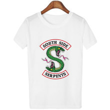 O-neck Short Sleeve Female T-shirt Riverdale Southside Serpents
