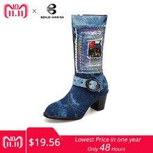 10908484554e Обувь Деним Botas – Купить Обувь Деним Botas недорого из Китая на ...