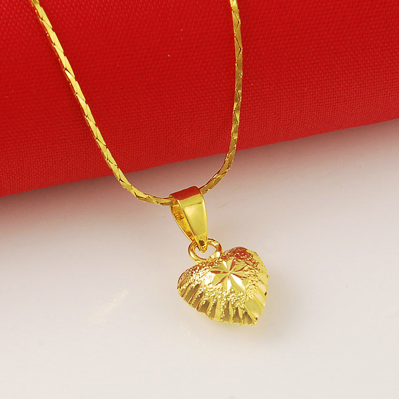 products heart yellow perspective figaro chains with pendant gold cross and necklace