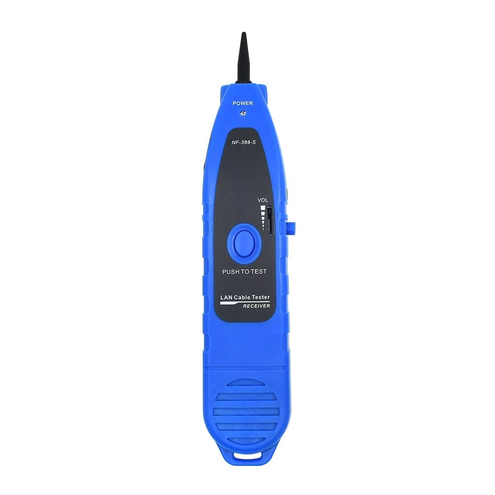 NF-388 Noyafa bleu d'origine RJ45 UTP STP Cat5 traqueur de fil téléphonique détecteur de ligne diagnostic Kit d'outils de tonalité testeur de câble réseau LAN - 4