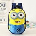 Гадкий я 2 Дети 3D Мультфильм сумки Дети Рюкзак мальчик школьный mochila Миньоны дети качества школьная сумка