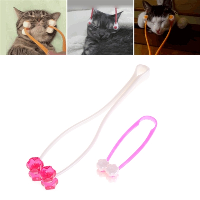 Dog Cat Massage Tool Cat Thin Face Massager Feet and Legs Massager Cat Grooming Massager Tool for Dogs Cats
