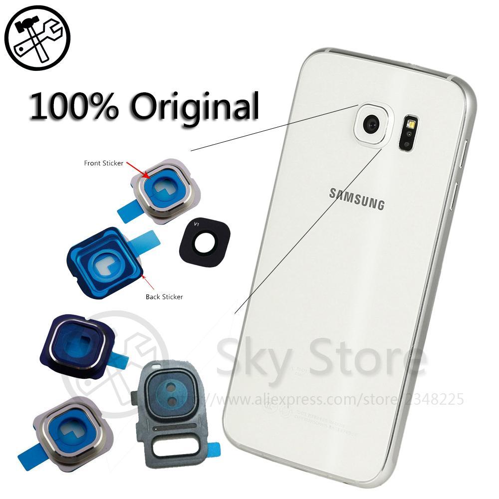 っoriginal S6 Back ③ Camera Camera Glass Lens Ring Cover ②