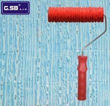 DIY 7 #8243 DIY Net Pattern Paint Roller for Wall Decoration Paint tools NO 044 model Reliefs paint roller wall decoration cheap Paint Tool Sets Paint Decorating G.SB Case