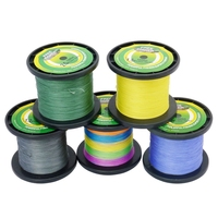 1000m Fishing PE Braid Line Mixcolor Free Fisher