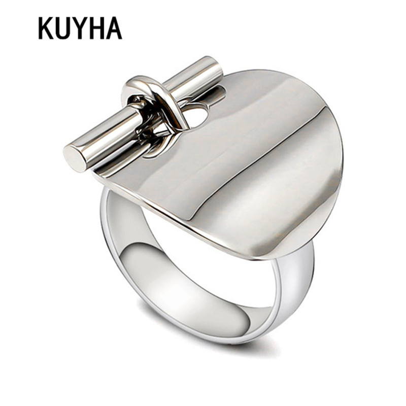 Unique Design Stylish Women Ring 316L Stainless Steel Record Name/Word Finger Jewelry Femme Bague 6/7/8/9 Size Hot Sale tgr098 a 10 stainless steel male ring size 9