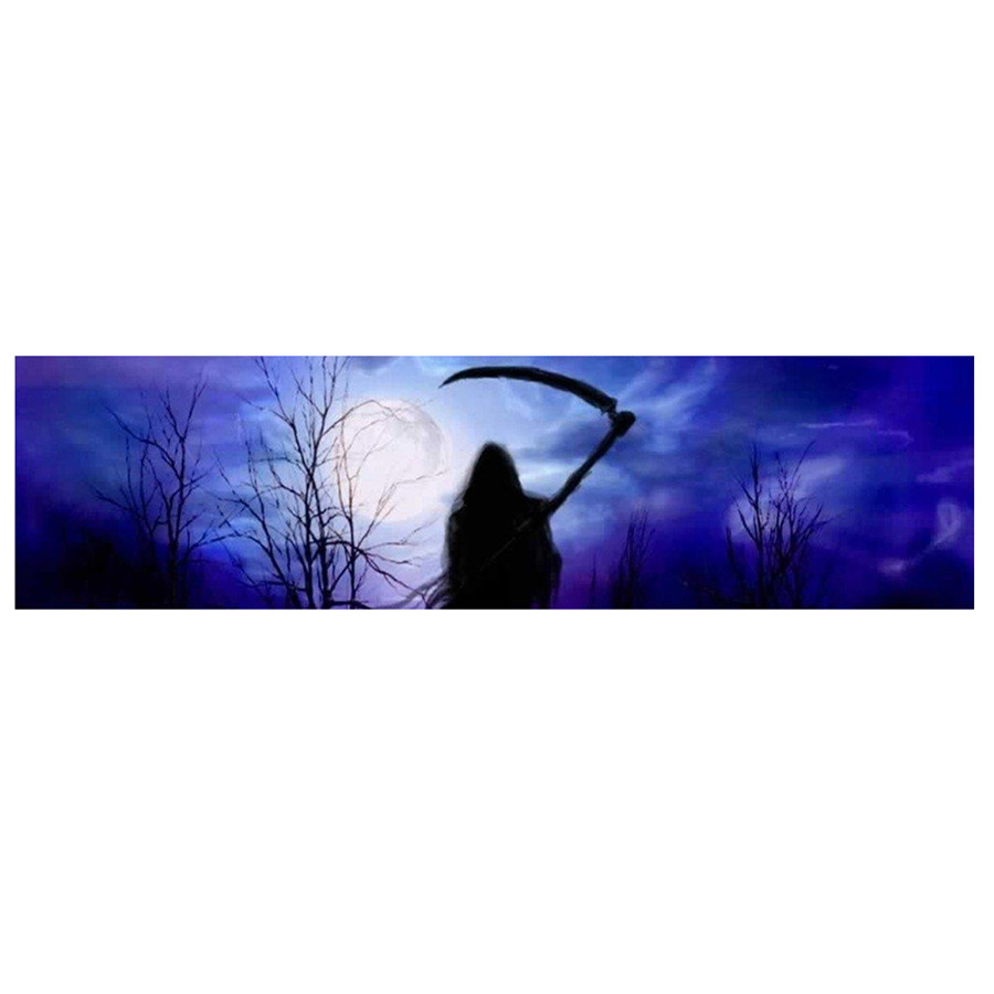 135x36cm Car Truck Grim Reaper Cemetery Rear Window Car Sticker Graphic Tint Decal Sticker Durability in Car Stickers from Automobiles Motorcycles