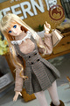 Warm Girl Turtleneck Lace Sweater+Suspenders Skirt Suit 4colour for BJD 1/3 DD DY Doll Clothes CW64