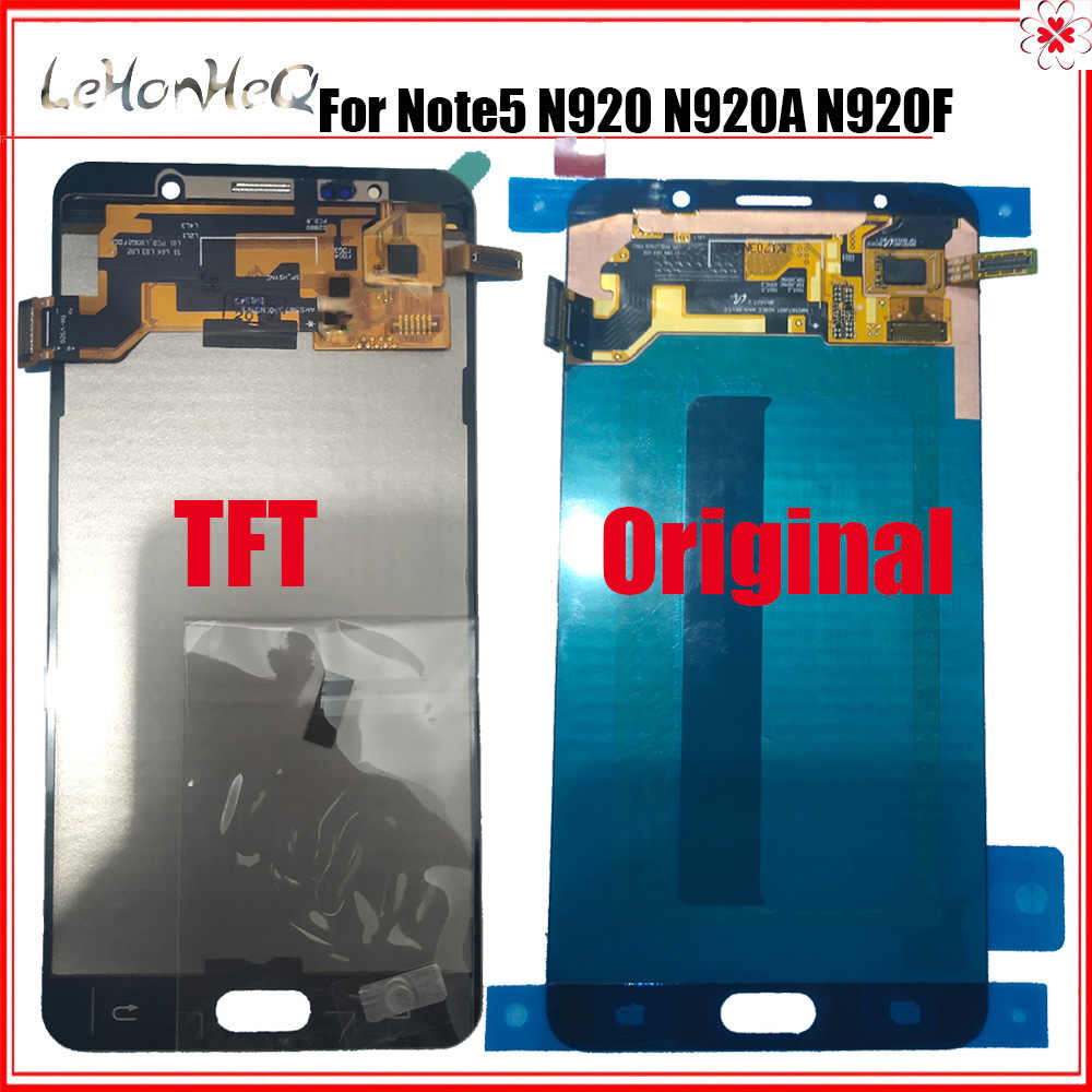 Prova a Cristalli Liquidi per Samsung Note 5 Display a Cristalli Liquidi per Samsung Galaxy Note5 N920 N920G N920F N920A Display Touch Screen Digitizer Assembly