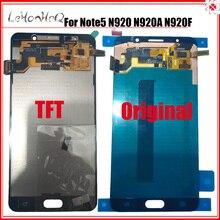 עבור סמסונג הערה 5 LCD מסך עבור סמסונג גלקסי note5 N920 N920G N920F N920A הערה 5 LCD תצוגת מסך מגע digitizer עצרת