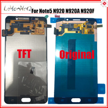 Samsung not 5 LCD ekran için Samsung Galaxy note5 N920 N920G N920F N920A not 5 LCD ekran dokunmatik ekran digitizer meclisi