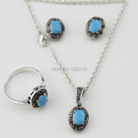 Free Shipping New 2014 Hot Vintage Jewelry Sets Fashion Costume Jewelry Gift Ideas For Necklace Ring