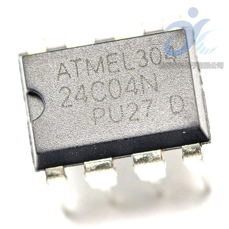 50 PCS AT24C16-10PU-2.7 DIP-8 AT24C16 24C16 PU27 2-Wire Serial EEPROM