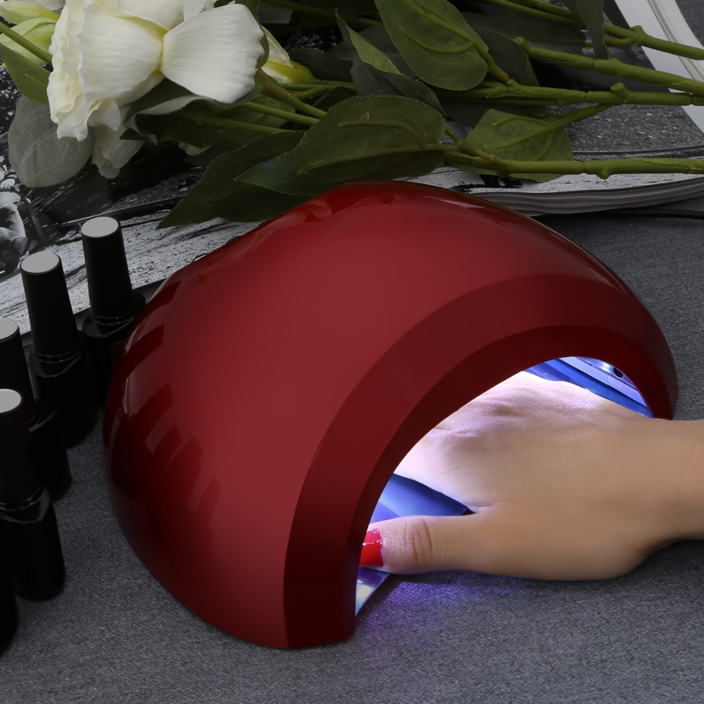 Professional 48W UV LED Nail lamp 20 LEDs Nail dryer Manicure Art Tools Equipment With 10s/30s/60s/90s button Gel Nail Polish 48w nail polish gel art tools professional ccfl led uv lamp light 110 220v nail dryer automatic induction 10s 20s 30s timer