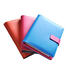 2017 Fashion Business notebook Business loose leaf notebook A5 notebook with calculator Multi functional loose leaf