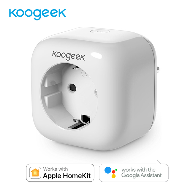 Koogeek inteligentne gniazdo zasilania domu wtyczka Wi-Fi do Apple HomeKit Siri/Alexa/Google automatyki domowej różnych dla Sonoff przełącznik Wifi