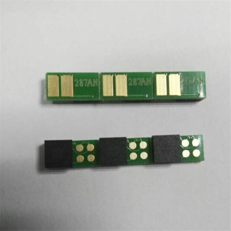 CF287A 87A 287A black toner cartridge chip compatible For HP LaserJet Enterprise M506dn/M506n/M506x/MFP M52 Pro 500 M527 printer cs dx18 universal chip resetter for samsung for xerox for sharp toner cartridge chip and drum chip no software limitation