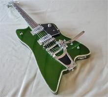 High quality  Gret Electric Guitar green body  rosewood fingerboard has semicircular pearl inlay цена в Москве и Питере