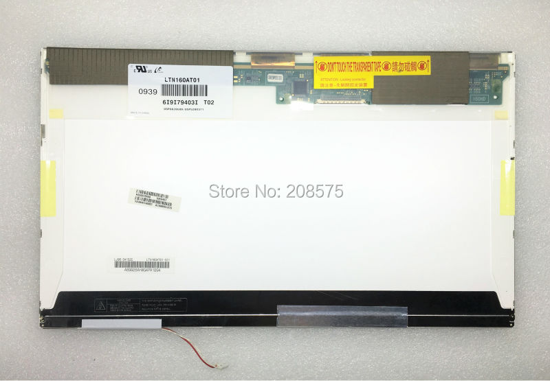 Free Shipping LTN160AT01 LTN160AT02 For Asus X61S ACER Aspire 6930G 6920 6935 6935G Toshiba AX/53HPK HP CQ60 Laptop LCD SCREEN high quality a 16 lcd screen ltn160at01 for acer aspire 6920g 6930g 6935g screen panel 1366 x 768