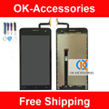 Black Color For Asus ZenFone 5 LCD Display+Touch Screen Digitizer Assembly With Tools 100% High Quality 1PC/Lot
