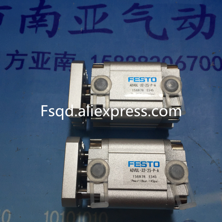 ADVUL-32-25-P-A  FESTO Thin cylinder pneumatic cylinder ADVUL series festo cylinder beijing festo pneumatic dsw 32 80 p a b sales order