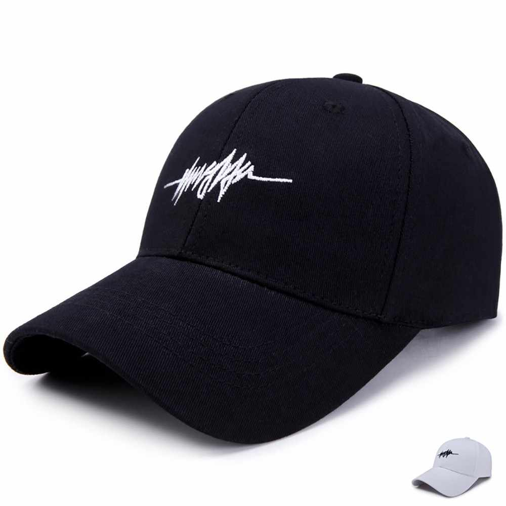 Korean Casual Fashion Canvas Baseball Cap Travel Outdoor Cap Hat Summer 2019 Brand New Cotton Mens/women Hat Youth Letter Print