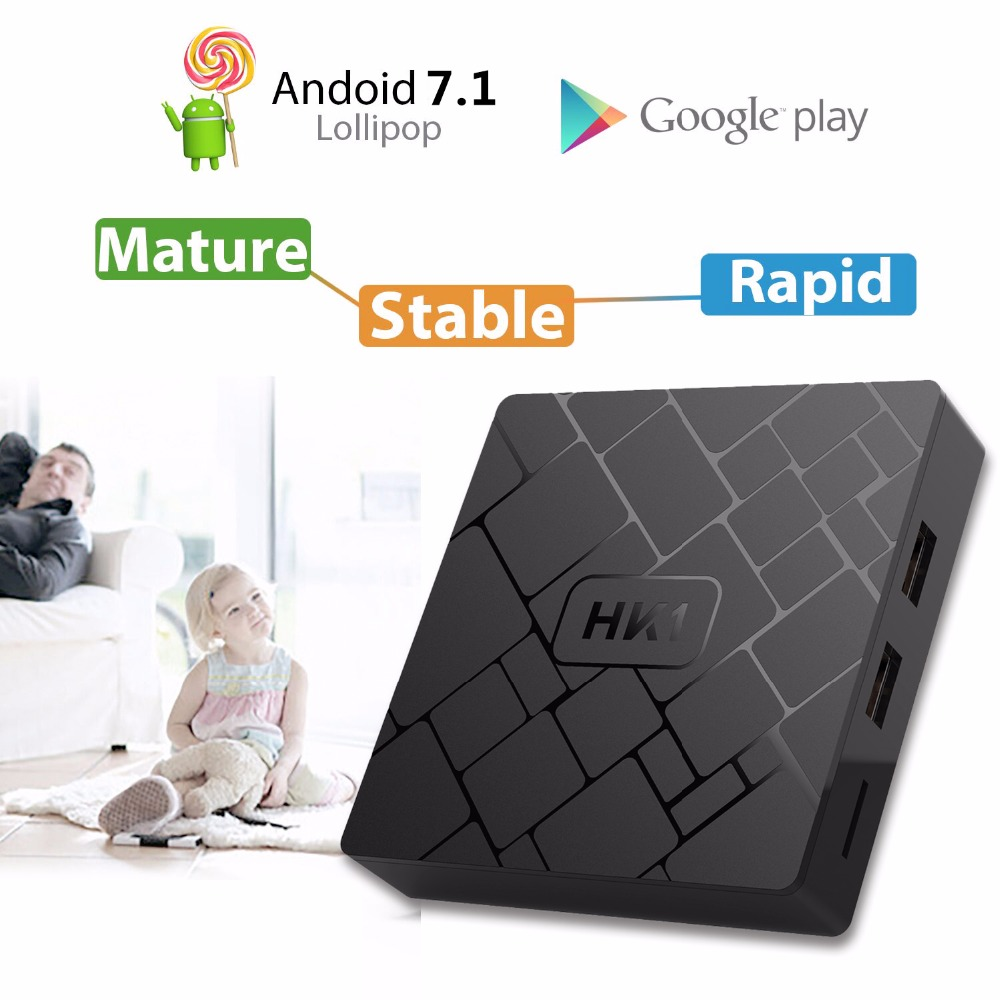 KimTin HK1 TV BOX Android 7.1 2GB 16GB Amlogic S905W dörd nüvəli - Evdə audio və video - Fotoqrafiya 4