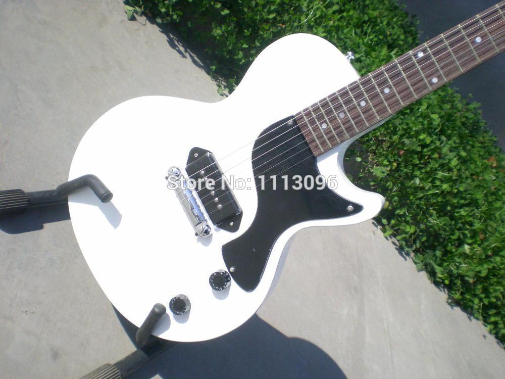free shipping new electric guitar lp studio slash standard oem brand white color electric guitar. Black Bedroom Furniture Sets. Home Design Ideas