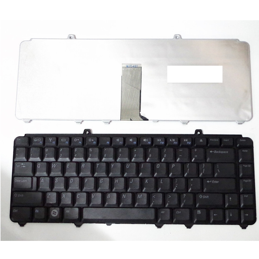 US Black New English Replace laptop keyboard For DELL PP41L M1530 For Vostro 1400 PP22L 1318 1545 PP29L For Inspiron 1520 new for dell 1720 1721 vostro 1700 german gr laptop keyboard black nsk d820g 0kt273