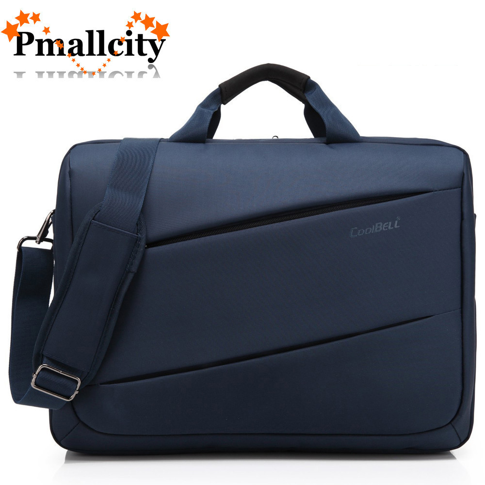 CoolBell Fashion 17.3 pulgadas Laptop Bag 17 Notebook Computer Bag Impermeable Messenger Shoulder Bag Hombres Mujeres Maletín de Negocios