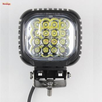 12V 24V 5 Inch 48W Work Tuning Light For 4*4 Wrangler Truck Boat SUV ATV