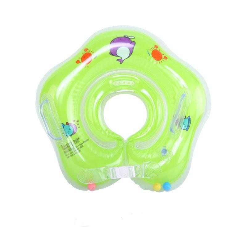 Newborn  Baby Inflatable Swimming Neck Ring