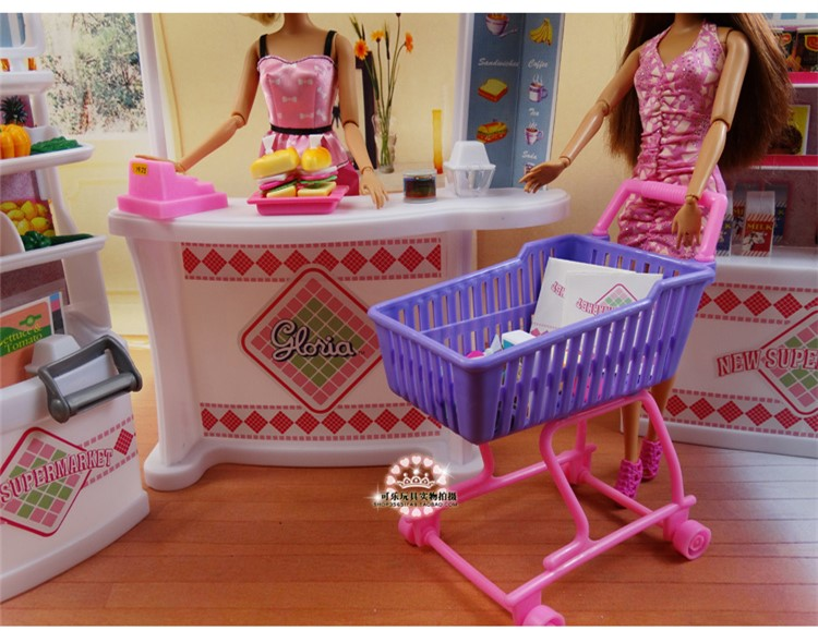 barbie doll house furniture sets. aliexpresscom buy doll furniture for barbie girl birthday gift plastic play set supermarket self mall store girls diy toys from reliable house sets d