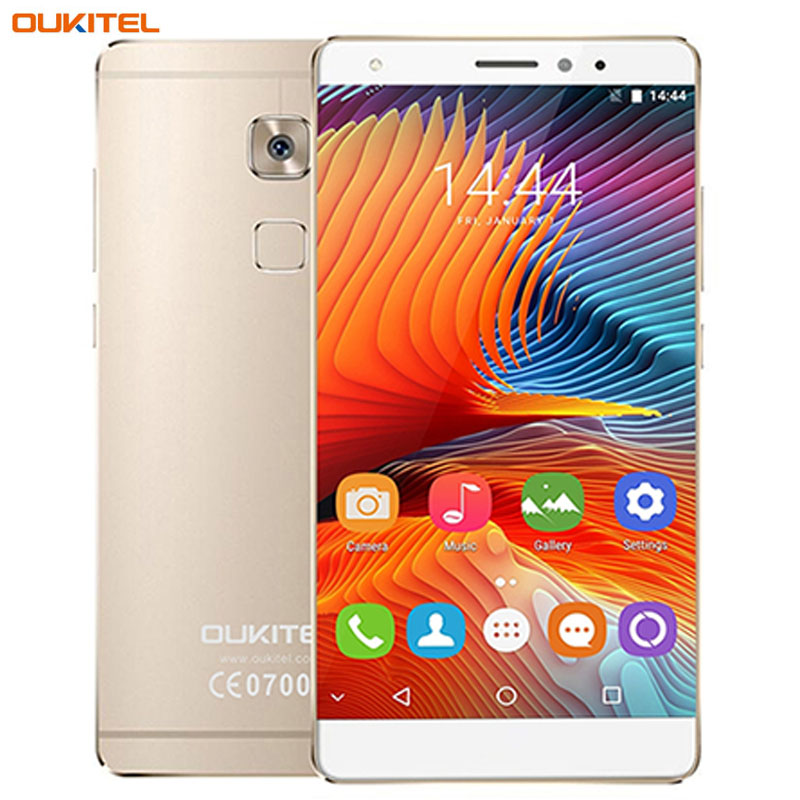 bilder für OUKITEL U13 3 GB + 64 GB Fingerprint Identification 5,5 zoll Android 6.0 MTK6753 Octa-core bis zu 1,3 GHz Netzwerk 4G Dual SIM OTG