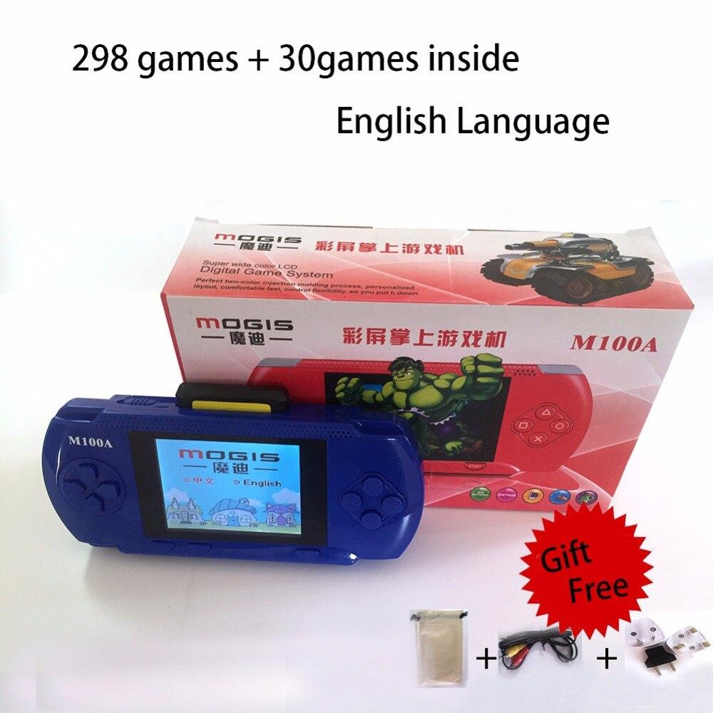 Diszipliniert 3,25 retro Maschine Handheld-konsole Mit 328 Eingebaute Videospiele Für Psp Spiel Weniger Teuer Videospielkonsolen Videospiele