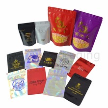 Подгонянные сумки Подгонянные с собственным логотипом Подгонянный логотип печать Подгонянный логотип мешок горячего тиснения напечатанный алюминиевой фольгой сумки