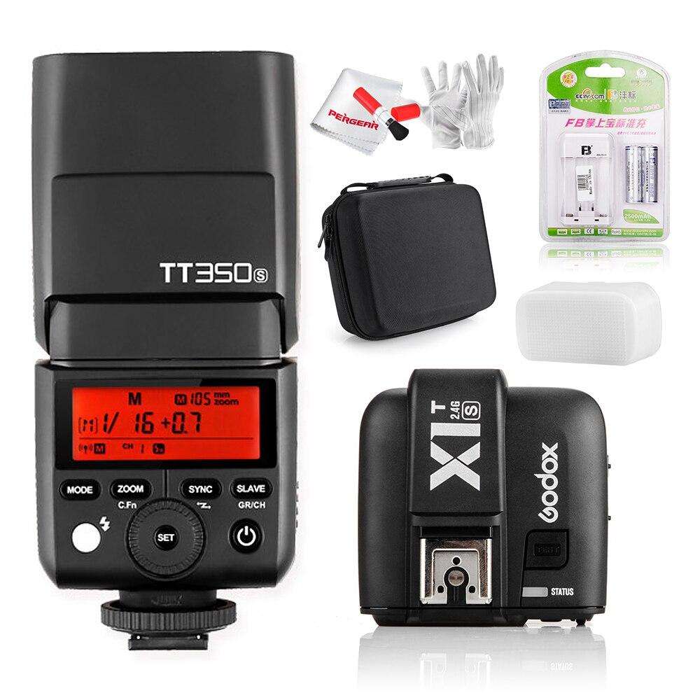 Godox TT350S Camera Flash Light TTL HSS 1/8000s 2.4G Speedlite for Mirrorless Camera a7RII a7R a58 a99 ILCE6000L a77II