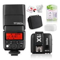 Godox TT350S Máy Ảnh Flash Light TTL HSS 1/8000 s 2.4 Gam Speedlite đối với Sony Sony Không Gương Lật Máy Ảnh a7RII a7R a58 a99 ILCE6000L a77II