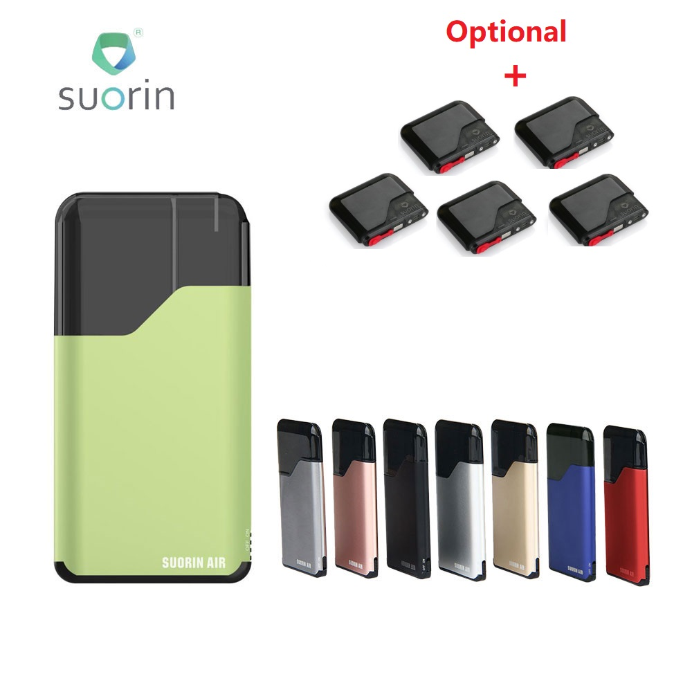 Original Suorin Air Starter Kit 400mAh Battery & 2ml Suorin Air Cartridge E-cig Vape Kit Pod System Vs Suorin Drop/ Pal 2 Pro