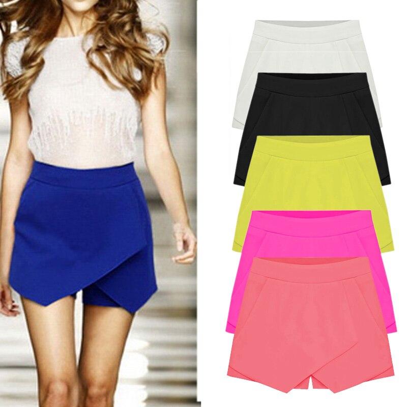 HTB126hPHFXXXXXtXXXXq6xXFXXXH - Shorts Culottes New Shorts Skirt Plus Size S-XXL PTC 233