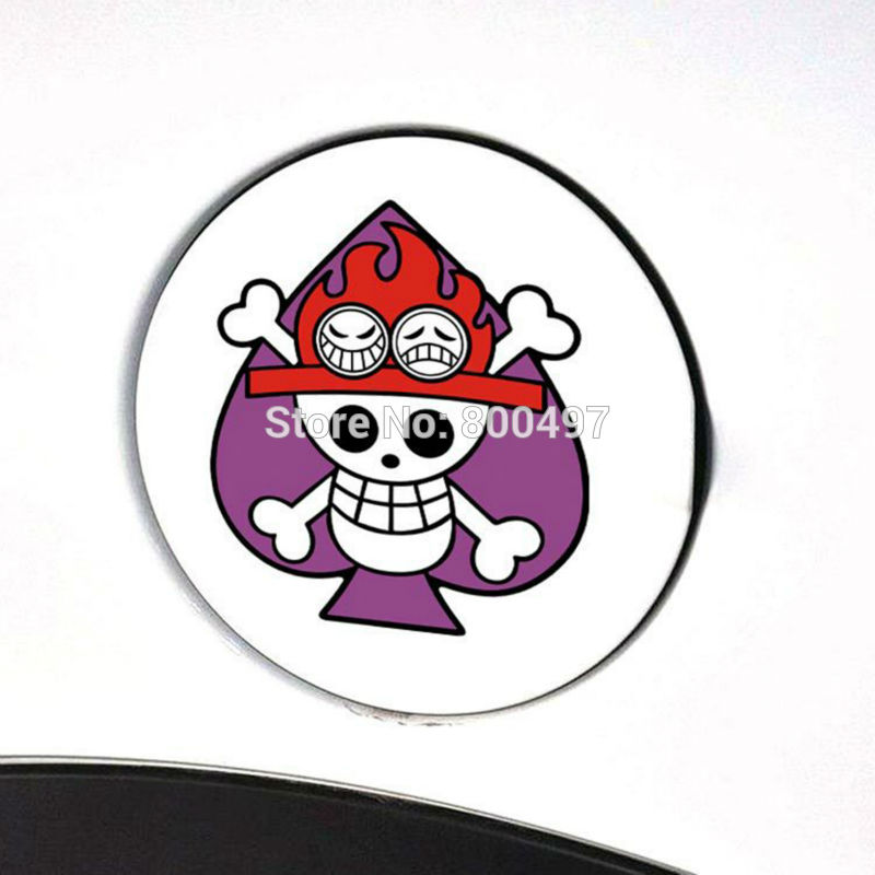 10 X Funny Car Sticker Car Body One Piece Ace Skull Creative Decal For Tesla Ford Chevrolet Volkswagen Honda Hyundai Kia Lada