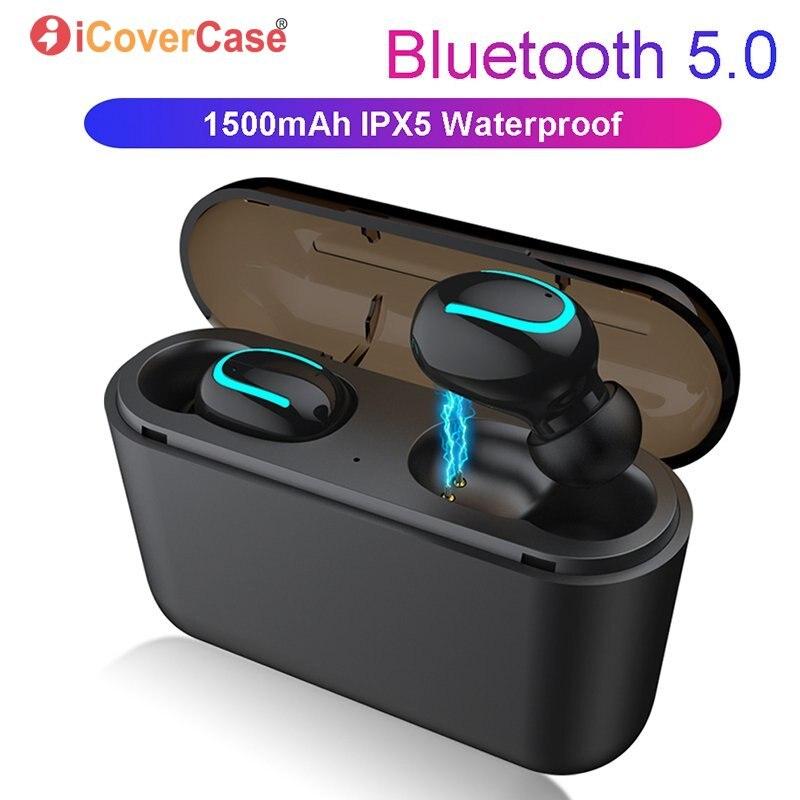 Para Huawei P30 P30 Pro Lite P20 Companheiro 20 10 P10 Plus P9 P8 Lite 2017 Gêmeos Fones de Ouvido Sem Fio Bluetooth fone de ouvido com Caixa de Carga