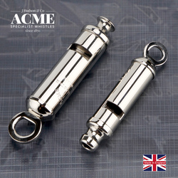 ACME Scout 50.5/CITY 47 Scout Metal Seamless Welding Whistle Laser Lettering Personality Pendant Whistle Necklace Accessories