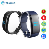 Teamyo DF30 Smartband Heart Rate Blood Pressure Oxygen Monitor Smart Bracelet Pulseira Fitness Tracker Pedometer For