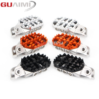 Motorcycle scaling Foot Pegs Rests Pedals For KTM EXC EXC F XC SX SX F 50 125 250 350 450 525 530 660 950 990 DUKE ADVENTURE SMS