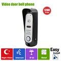 Homefong Wired Doorbell Camera Door phone Intercom Infrared Night Vision Wide Angle HD 1200TVL Dual-way Talk