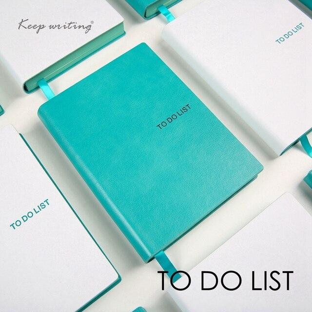To Do List ноутбуков A6 время планировщики расписание повестки дня Симпатичные журнал канцелярские магазине школьных офисная техника получить вещи сделано TODO