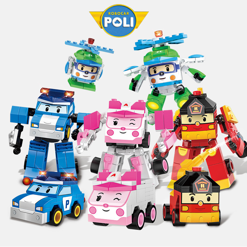 robocar poli giocattoli