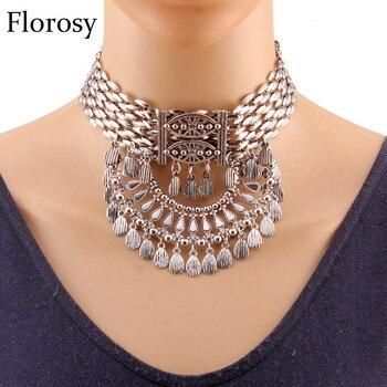 879aac0728ae PPG y PGG 2019 las nuevas mujeres hermosa Bijoux Arco Iris Rhinestone flor  rosa de cristal de cadena gargantilla collar hecho a mano de la joyería